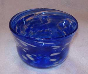 Small Blown Glass Bowl